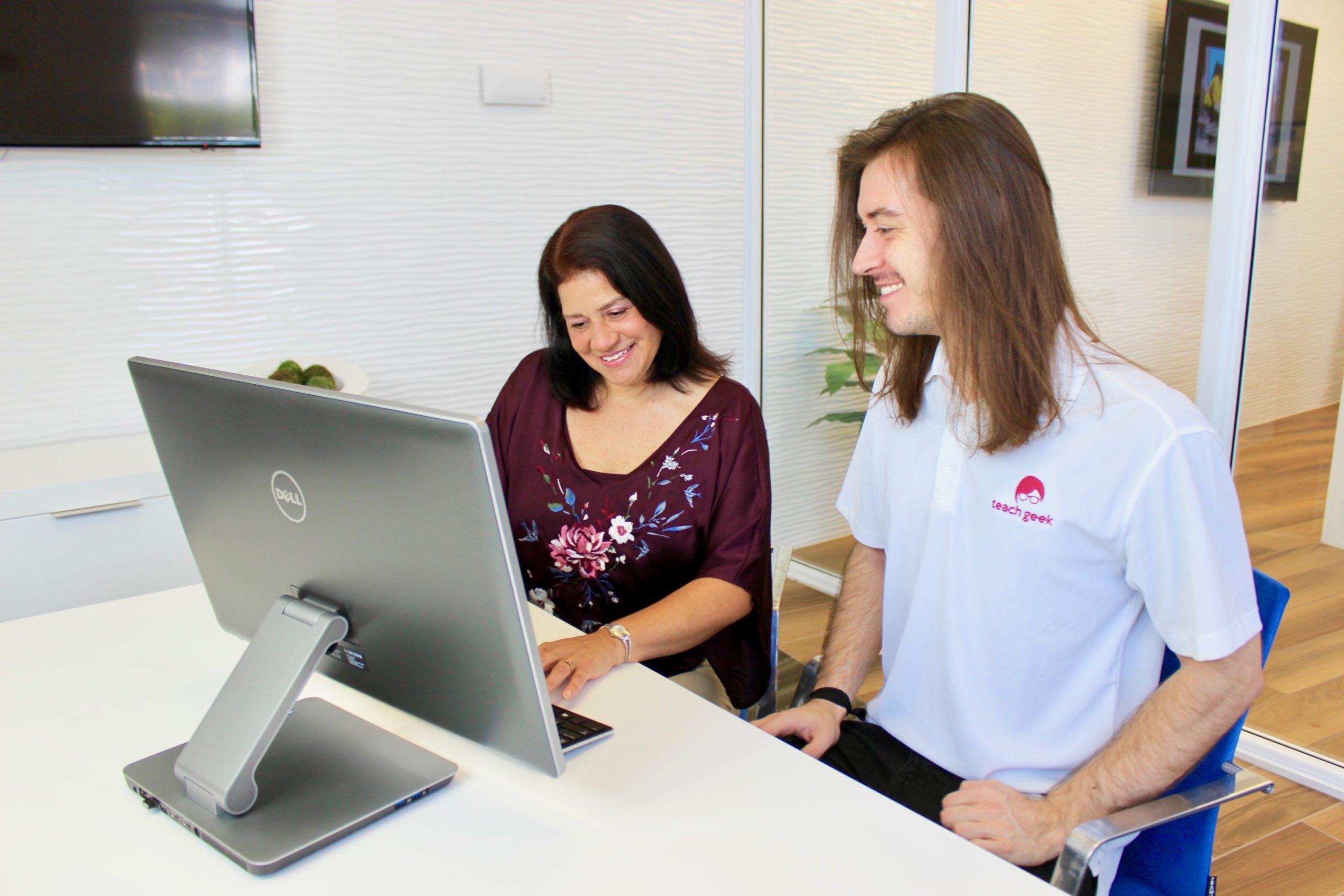 TeachGeek at work with clients